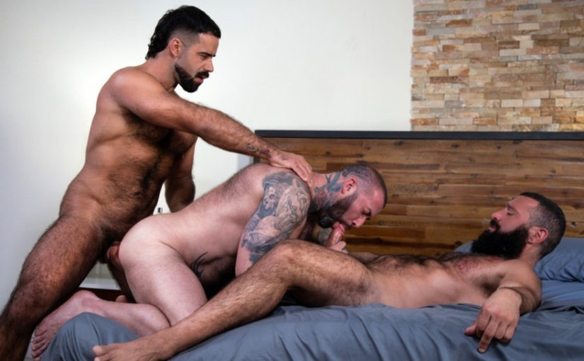Loaded: Muscle Fuck!, Scene #01