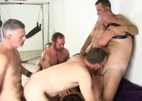Gang Bang at Victor Cody's Part 2