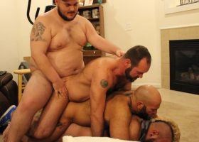 Gang Bang at Topher's Part 1